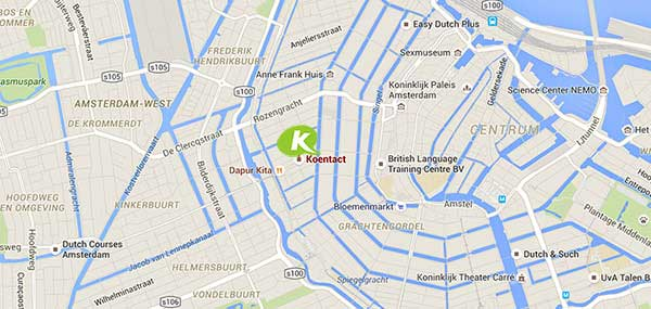 Koentact map